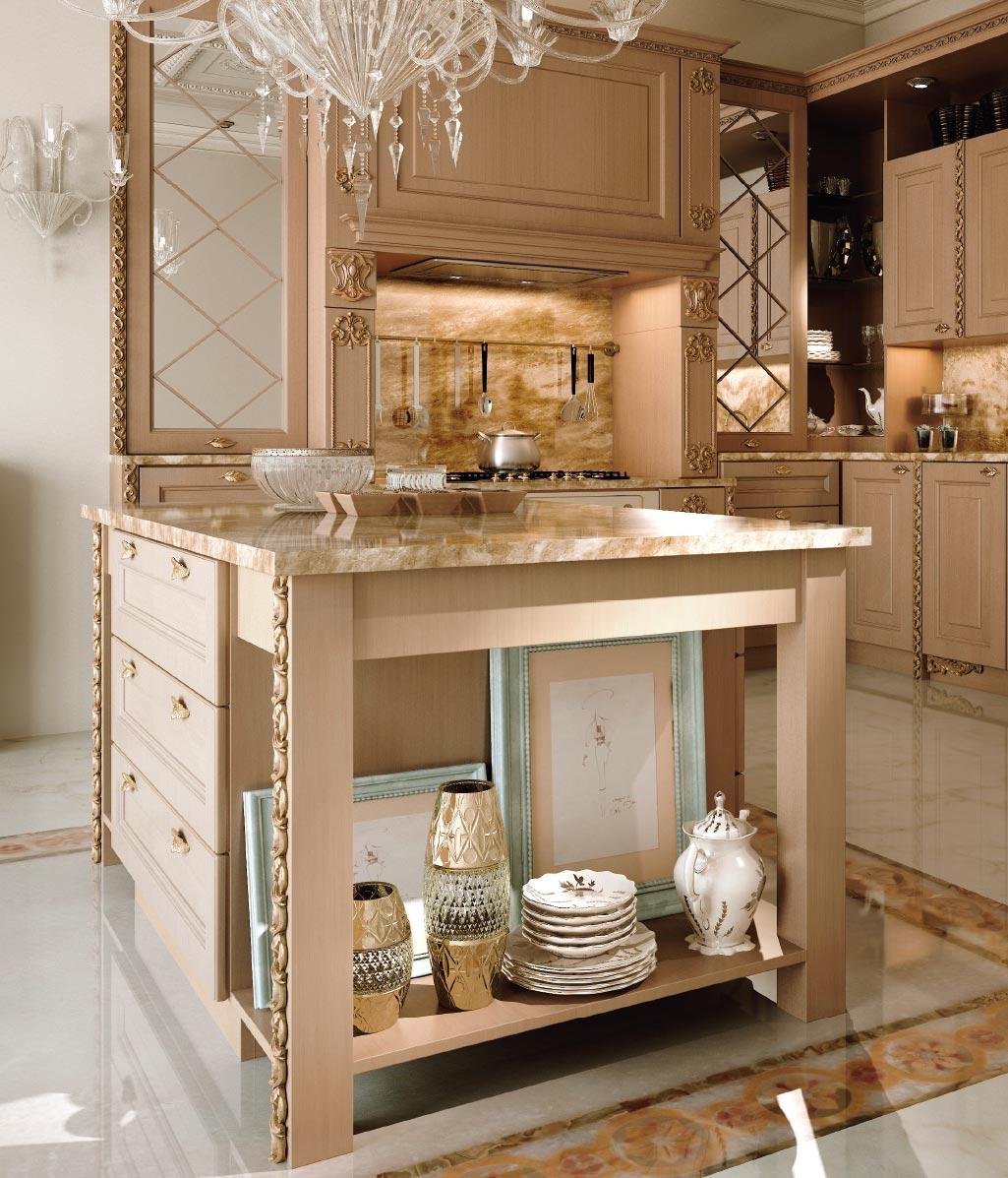 Cucine In Oro: Sali del mondo: sapori e colori di un granello doro bianco. Cucina barocchina ...