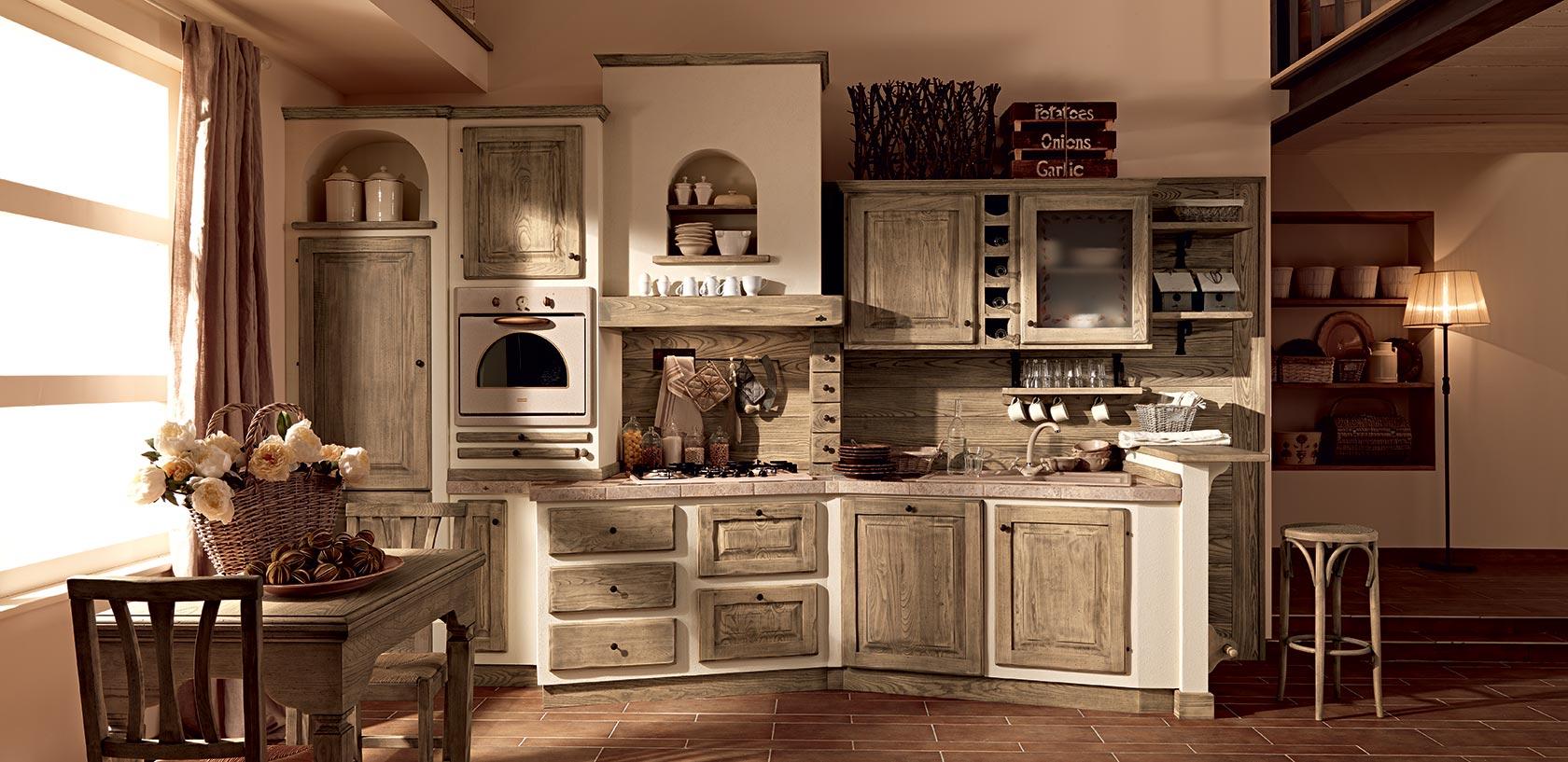 Estremamente Emejing Cucine In Legno Rustiche Ideas - Ideas & Design 2017  XJ41