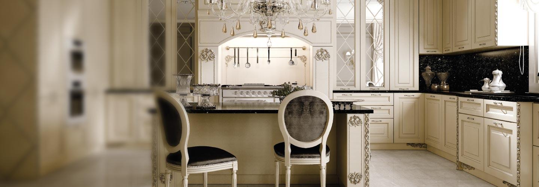 Immagini cucine classiche cucina classica modello ginevra - Cucine classiche immagini ...