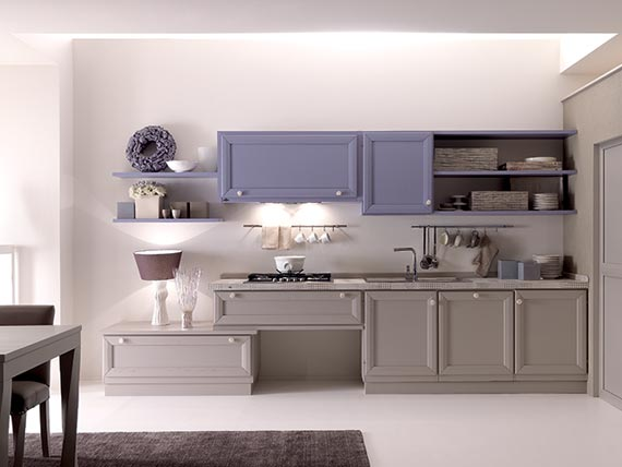 Cucine contemporanee zappalorto cortigiana azzurro for Cucine contemporanee
