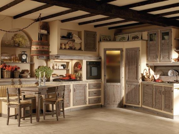 Zappalorto Italian Country style kitchens Giulietta di Oggi - Frumento