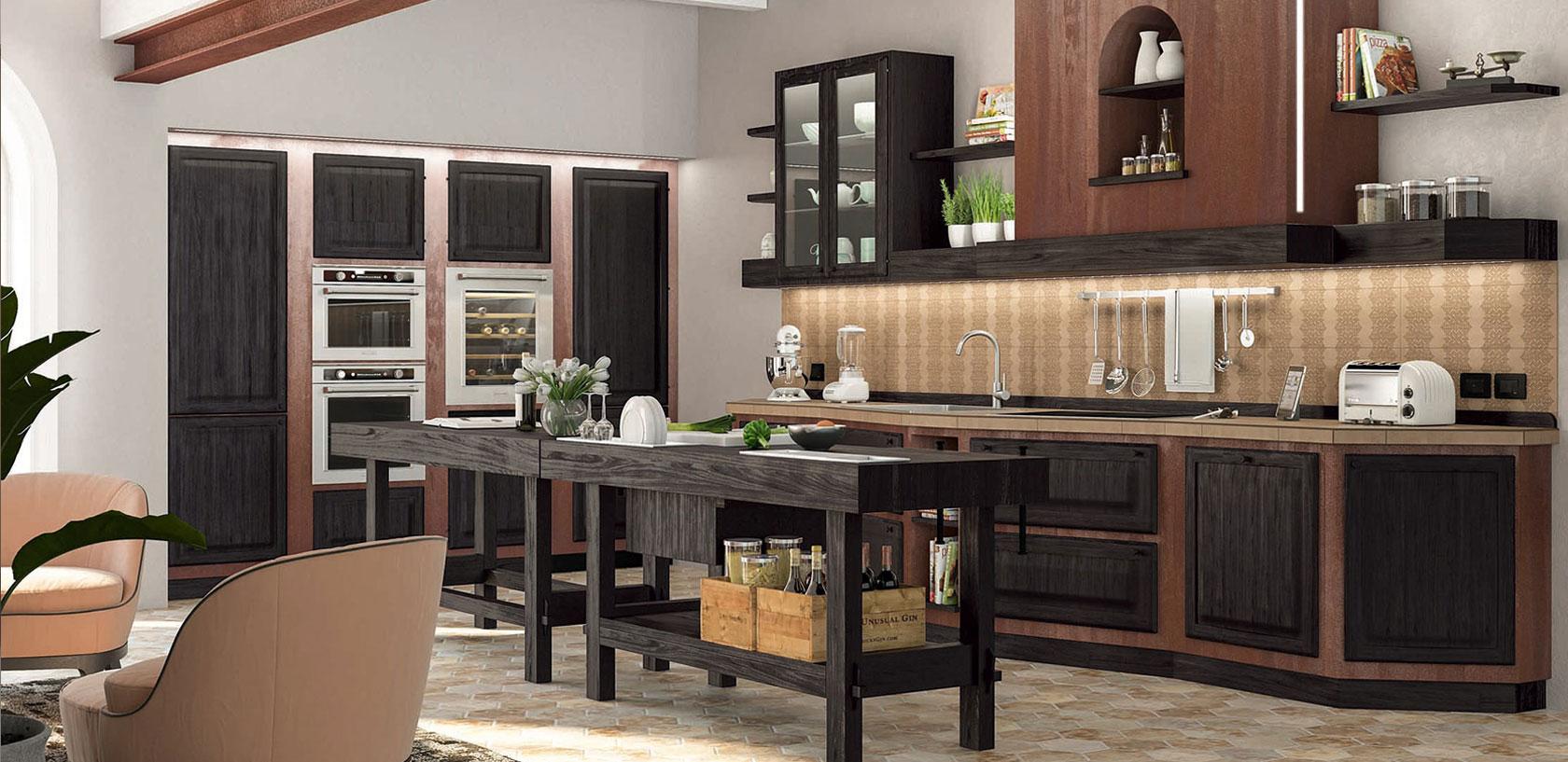 Le cucine in legno massello | Zappalorto