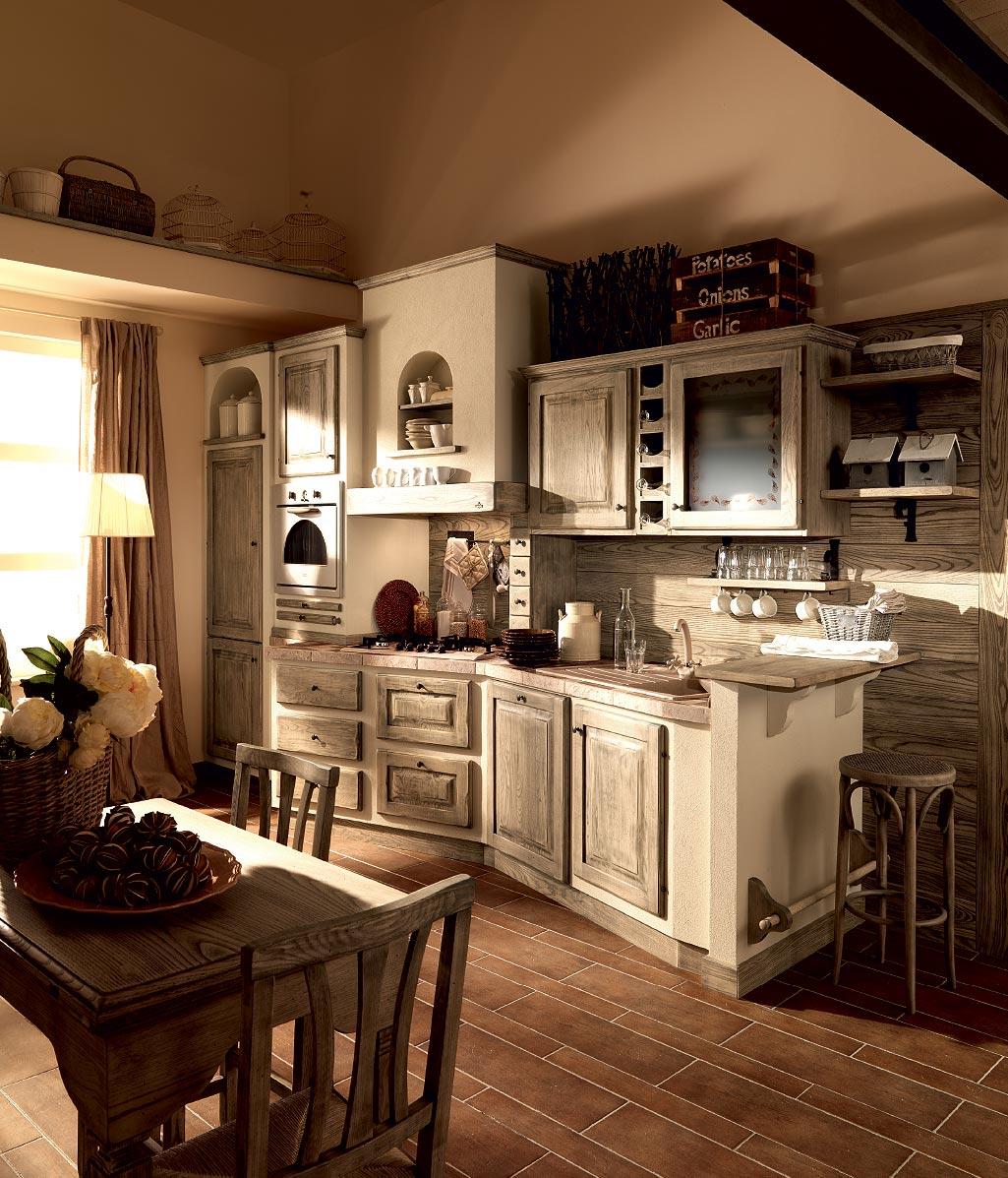Zappalorto Cucine Tradizionali #A88023 1025 1197 Cucine Rustiche In Muratura Zappalorto