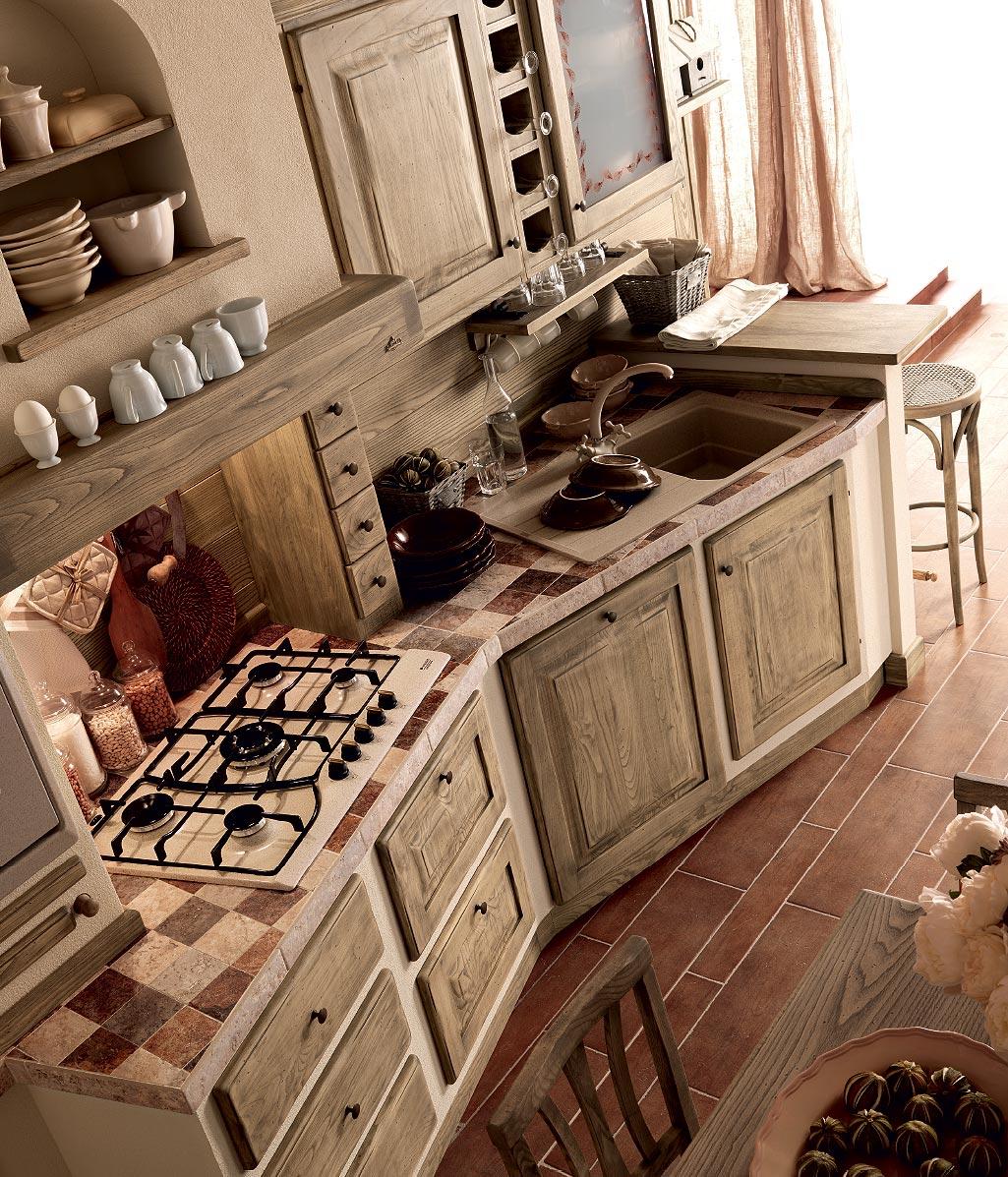 Zappalorto Cucine Tradizionali #30190F 1025 1197 Cucine Rustiche In Muratura Zappalorto